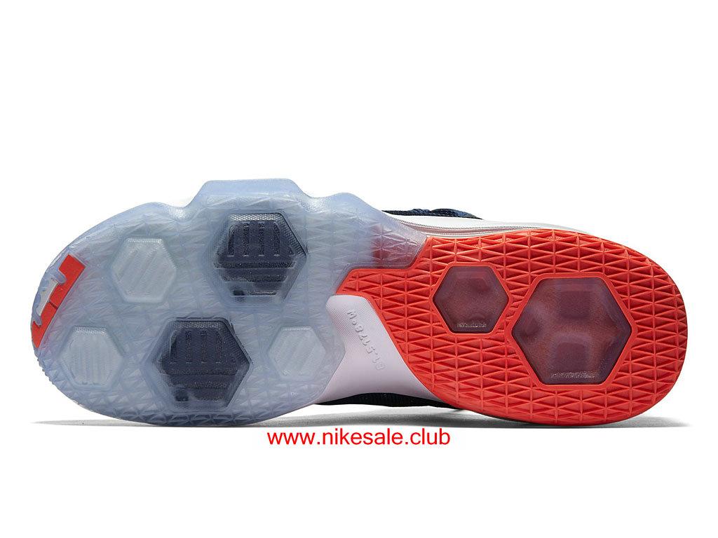 Chaussures De BasketBall Nike LeBron 13 Low EP USA Homme Prix Nike Sale Pas Cher BleuBlancOrange 831925_416 Les Nike Magasins Discount