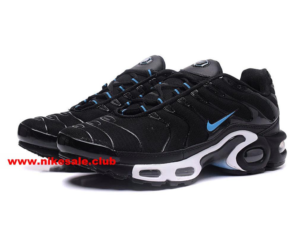 Chaussures De Running Nike Air Max PlusNike TN Requin 2017 Prix Pas Cher Pour Homme NOirBlancBleu 1704140977 Les Nike Magasins Discount
