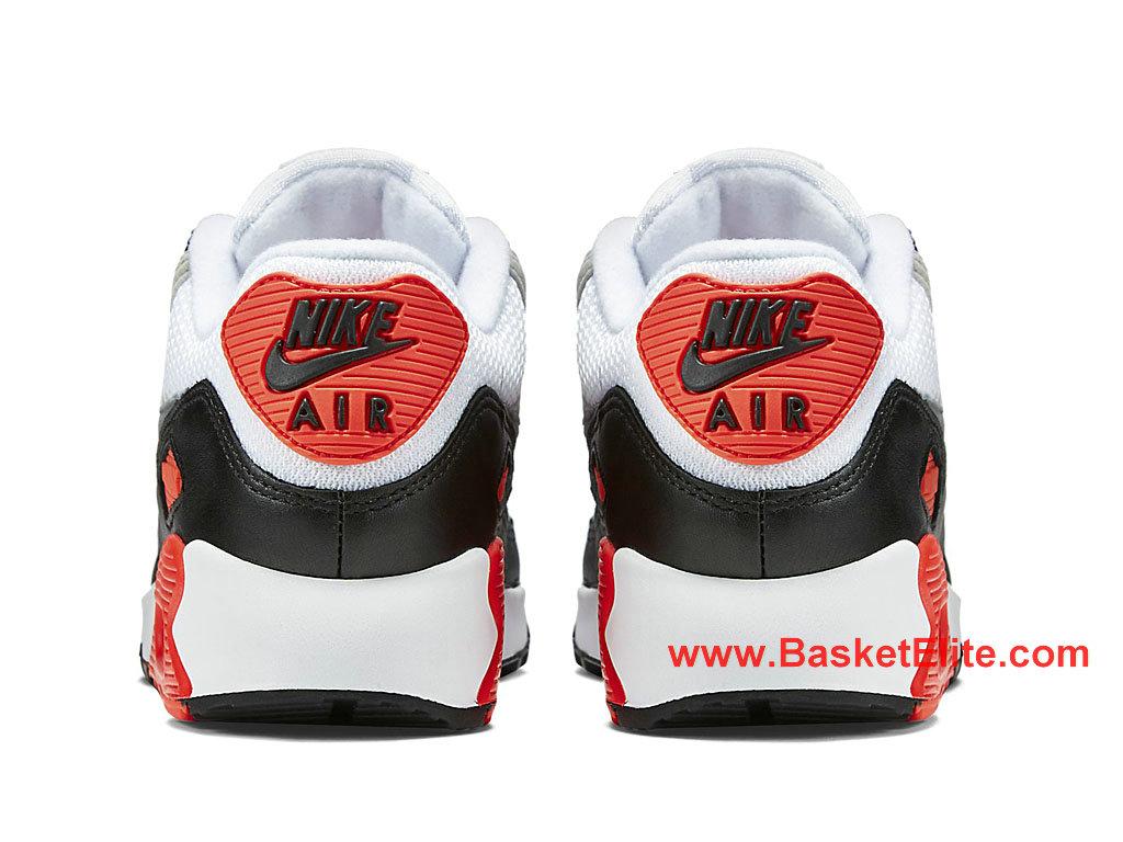 Chaussures Femme Nike Air Max 90 OG Pas Cher Noir Rouge Gris Blanc 742455_100 1603240085 Les Nike Magasins Discount D´usine,Nike BasketBall Pas Cher