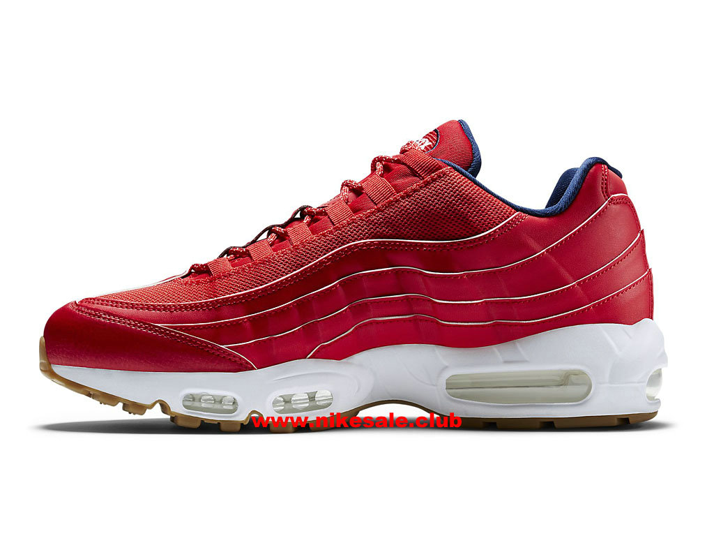 Chaussures Nike Air Max 95 Premium USA Prix Homme Pas Cher RougeBleu 538416_614 1611240866 Les Nike Magasins Discount D´usine,Nike BasketBall Pas