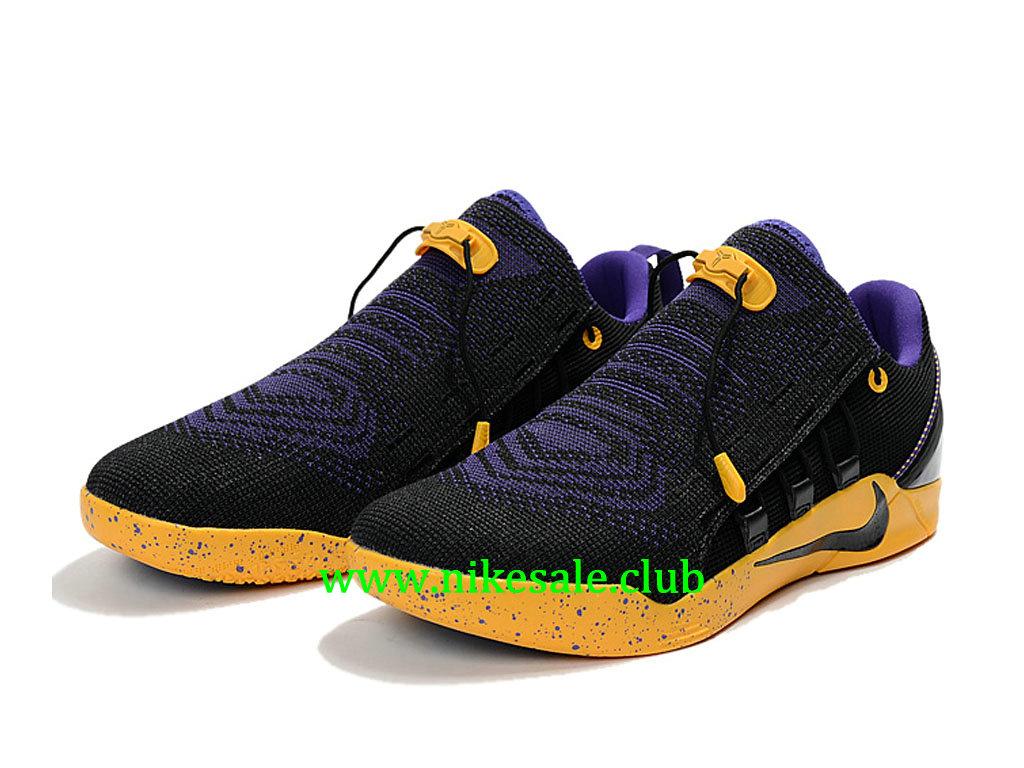 Chaussures Nike Kobe AD NXT Homme Pas Cher Prix Noir Jaune 882049_ID002 1712011333 Les Nike Magasins Discount D´usine,Nike BasketBall Pas Cher Site