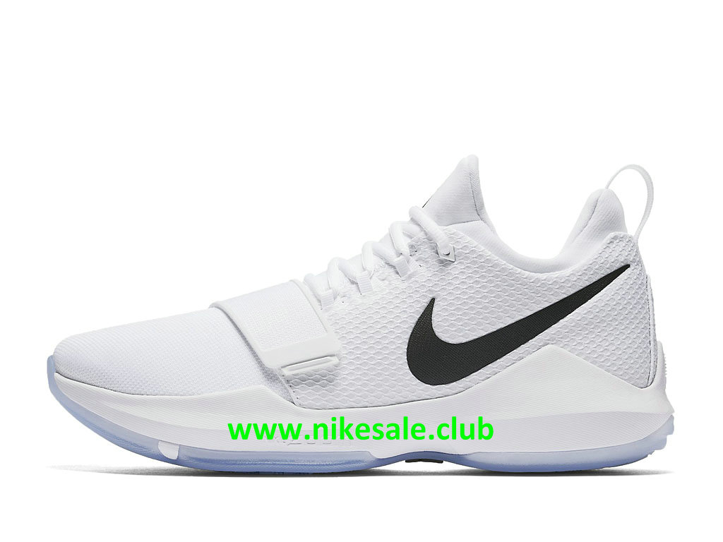 Chaussures Nike PG 1 White Ice Homme Pas Cher Prix Blanc Noir 878627_100 1711181255 Les Nike Magasins Discount D´usine,Nike BasketBall Pas Cher Site
