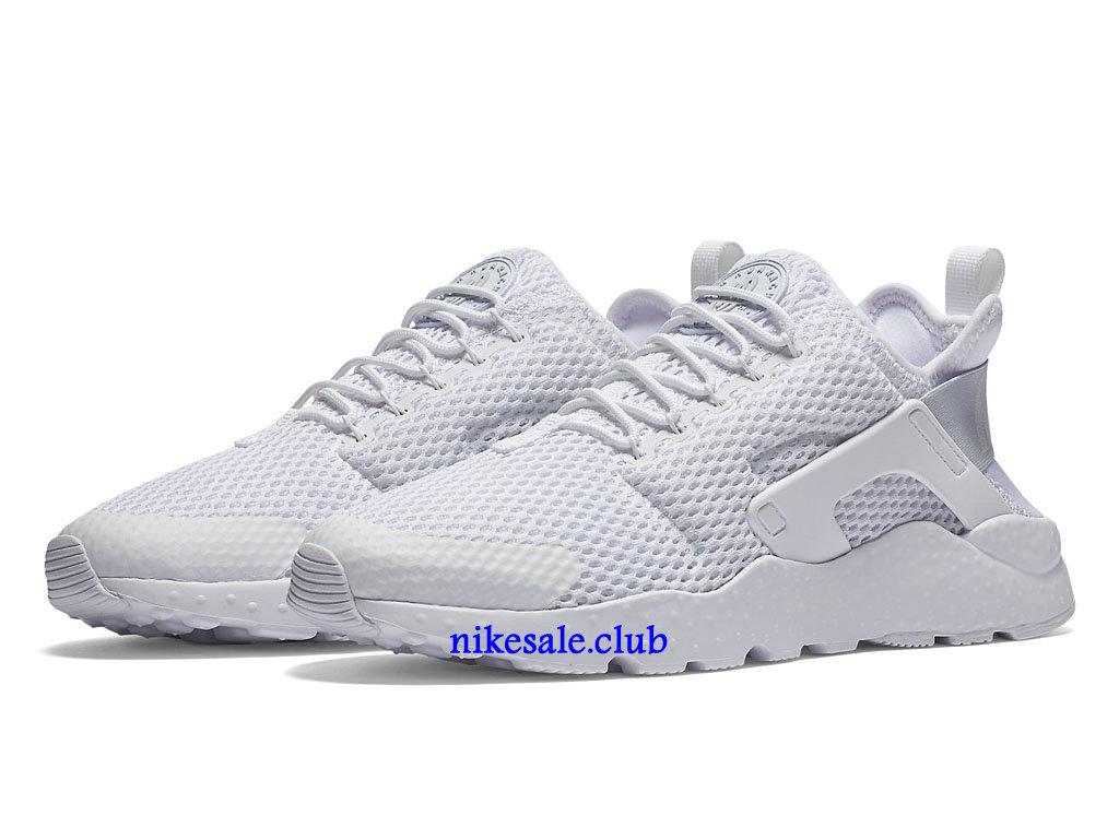 Nike Air Huarache Ultra Breathe GS Prix Chaussures De Nike Urh Pas Cher Pour Femme Blanc 833292_100 Les Nike Magasins Discount D´usine,Nike