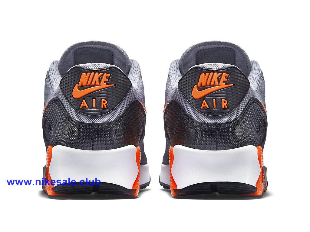Nike Air Max 90 Chaussures Pour Homme Gris Noir Orange 616730_014 Running Pas Cher Les Nike Magasins Discount D´usine,Nike BasketBall Pas Cher Site