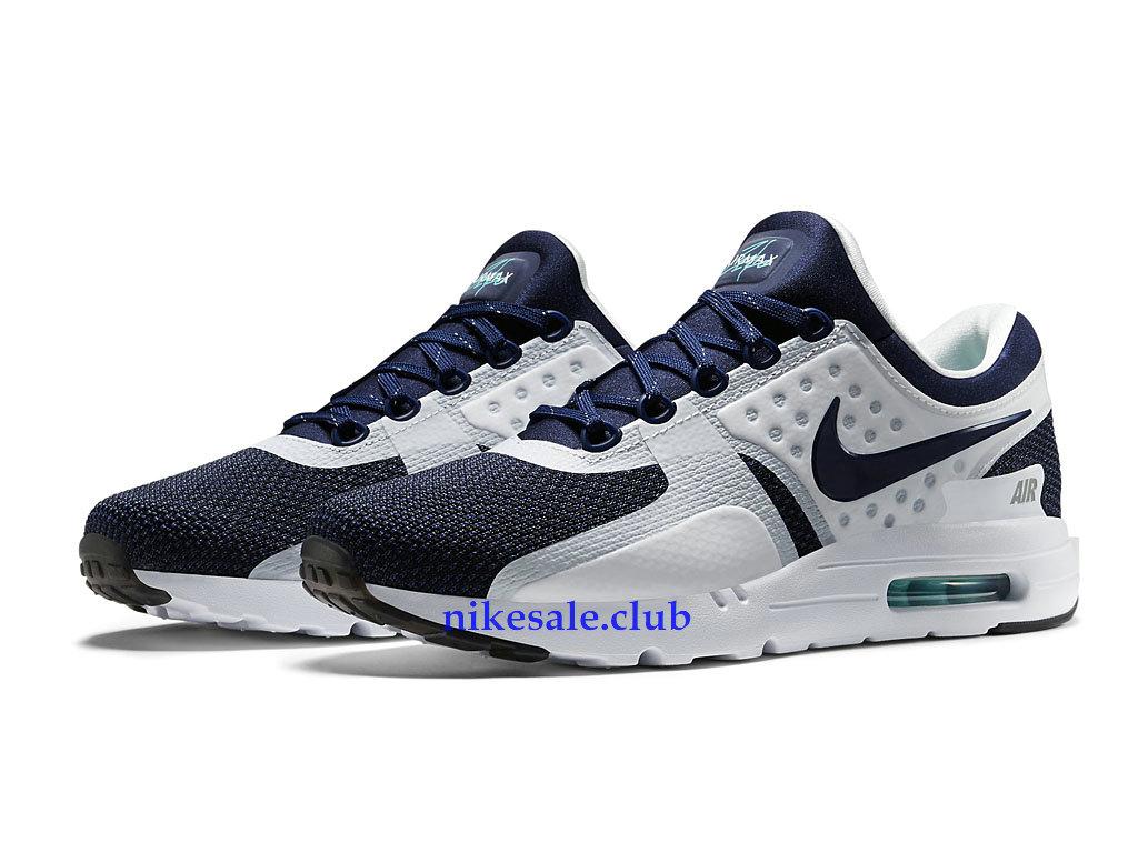 Nike Air Max Zero Prix Chaussures De Course Pas Cher Pour Homme BlancBleu 789695 104 789695 104 Les Nike Magasins Discount D´usine,Nike BasketBall